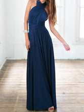 Load image into Gallery viewer, Multi-Way Plain Empire Evening Dress