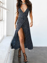 Load image into Gallery viewer, Sling Floral Maxi Dress