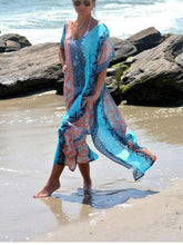 Load image into Gallery viewer, Turkey Gown Style Beach Dress Maxi Dress