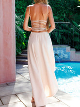 Load image into Gallery viewer, Spaghetti Strap  Plain Maxi Dresses