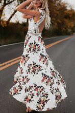 Load image into Gallery viewer, Fashion Sexy Floral Print Vacation Maxi Dress