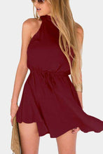 Load image into Gallery viewer, Sexy Halter Neck Sleeveless Skater Dress