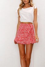 Load image into Gallery viewer, Belt Loops  Print Casual Skirts