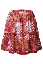 Load image into Gallery viewer, Flared Floral Printed Skirts