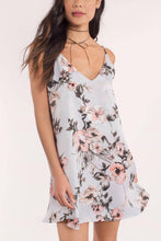 Load image into Gallery viewer, Spaghetti Strap  Backless  Print  Sleeveless Casual Dresses