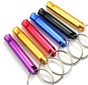Colorful Key chain Whistle