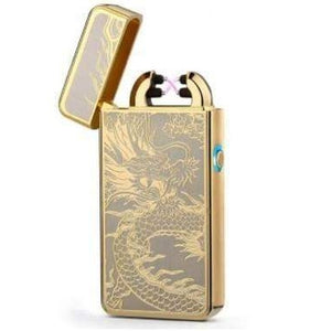 Luxurious USB Rechargeable Double Arc Lighter