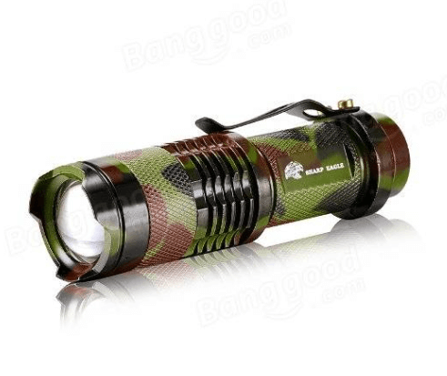Tactical Camo Flashlight