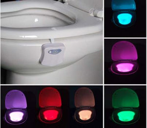 Smart Bathroom Toilet Emergency Nightlight