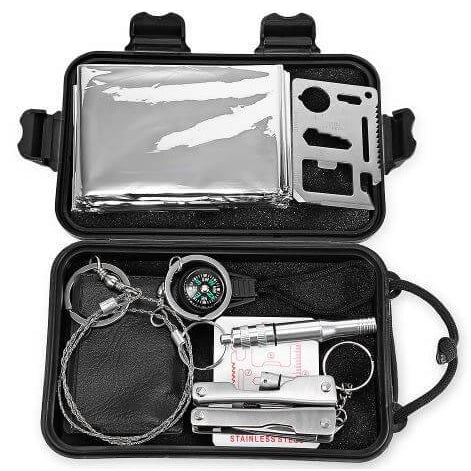 7-in-1 Inclusive Emergency Survival Kit