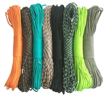 100 colors Parachute Cord Lanyard Rope (100 ft)