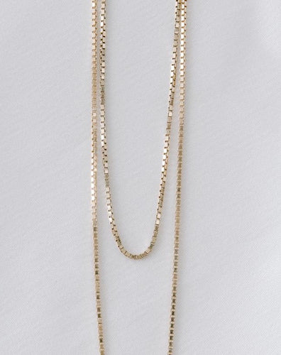 24 Inch Adjustable Box Chain