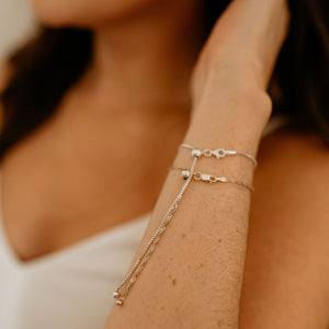 Adjustable Box Bracelet