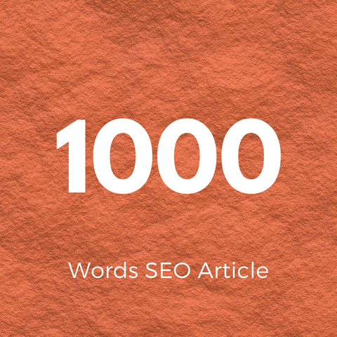 1000 Words Hand Written Article - Ghostwritten Content - SEOWriters.ca