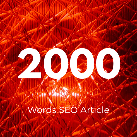 2000 Words Hand Written Article - Ghostwritten Content - SEOWriters.ca