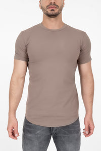 Established Tee - Brown