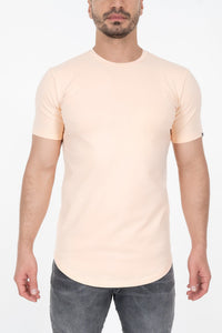 Established Tee - Salmon