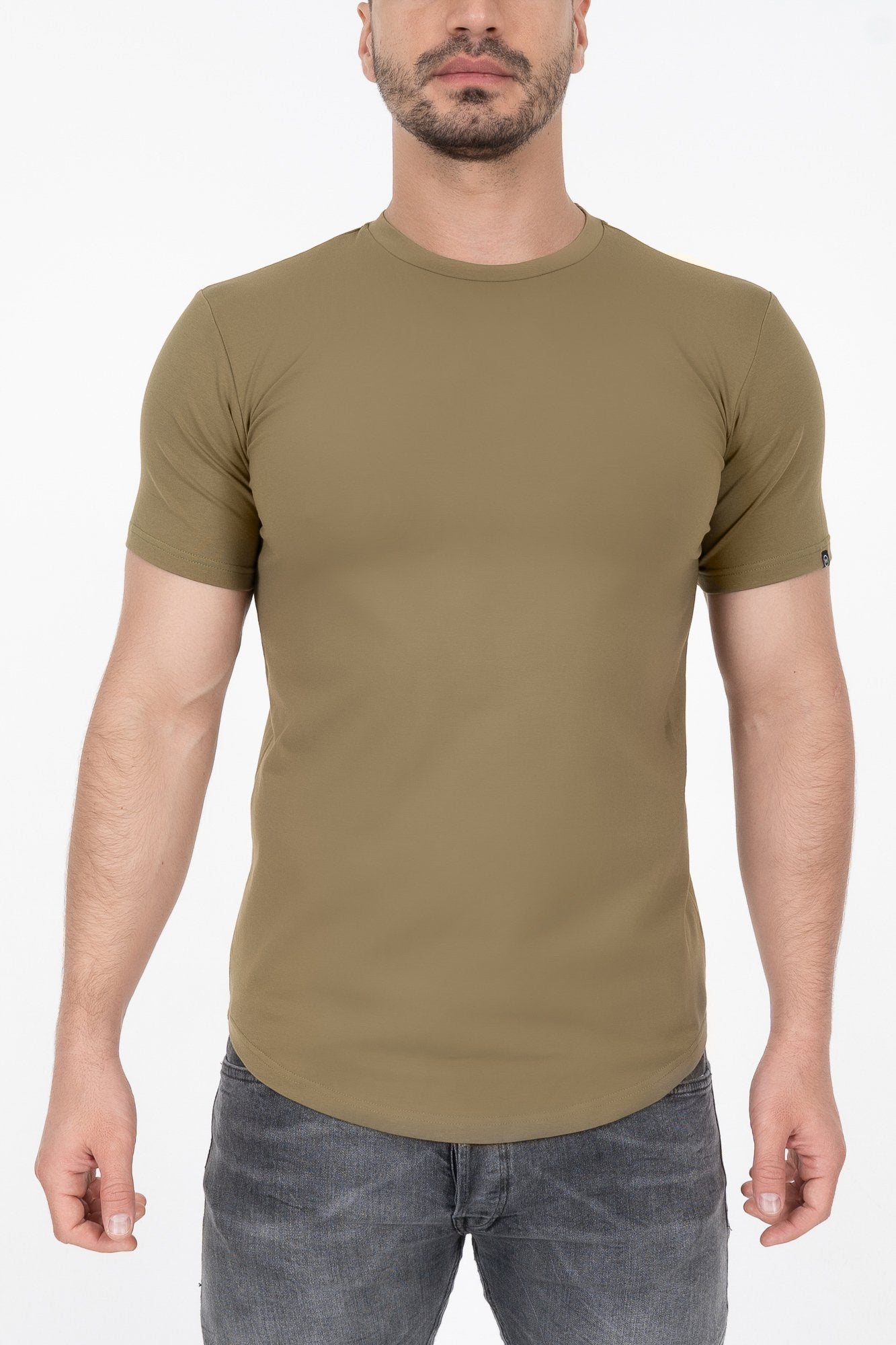 Established Tee - Green Military