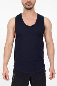 Hybrid Tank Top - Navy Blue