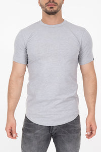 Established Tee - Heather Grey
