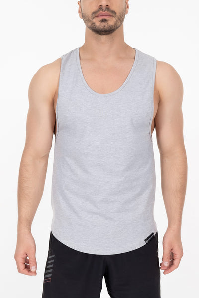 Hybrid Tank Top - Heather Grey