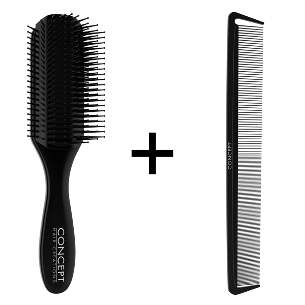 Concept Premium Brush & Comb Set