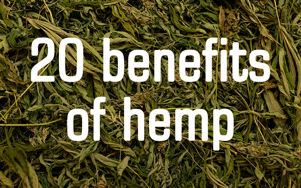 20 benefits of hemp, based on science
