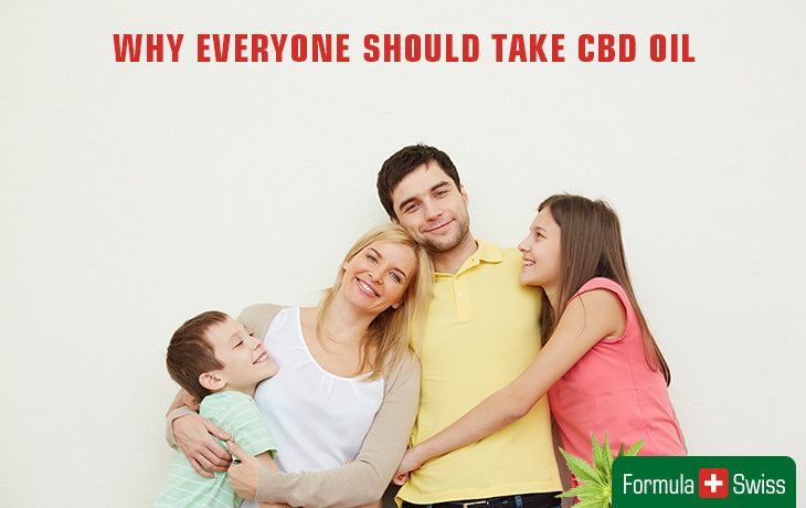 why everyone should take cbd oil