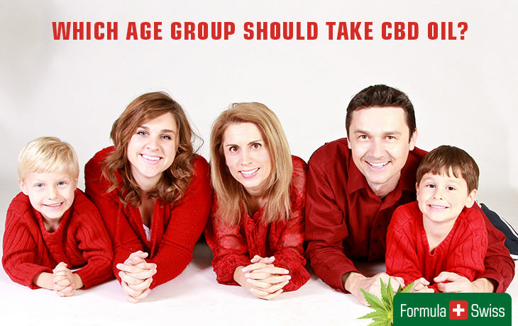 Which age group should take CBD oil
