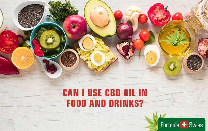 Can I use CBD oil in food and drinks?