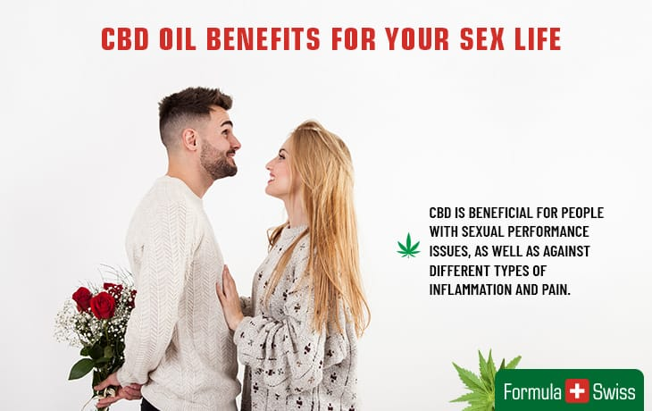 CBD oil benefits for your sex life