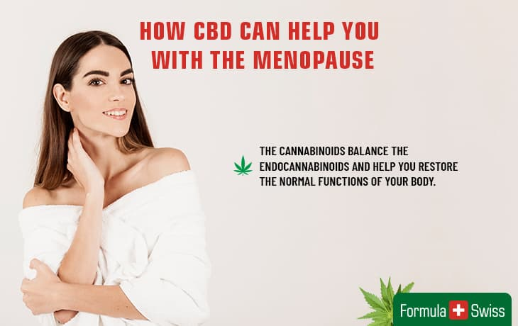 How CBD can help you with the menopause