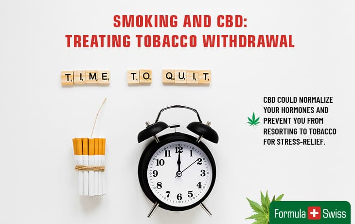 Tobacco withdrawal and CBD