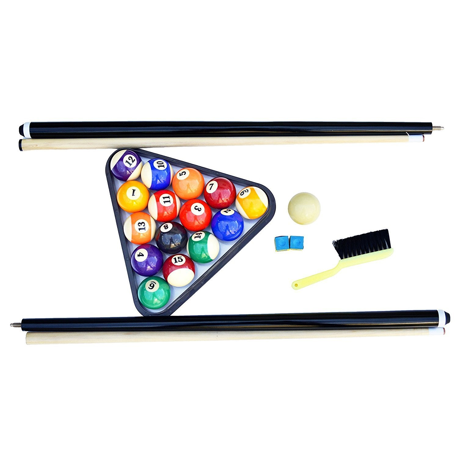 Portable 6 Ft Pool Table For Families With Easy Folding For Storage I Amazuda