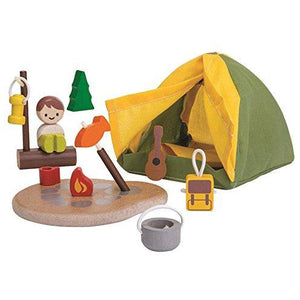 PlanToy Camping Playset