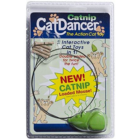 Cat Dancer 601 Catnip Cat Dancer Interactive Cat Toy