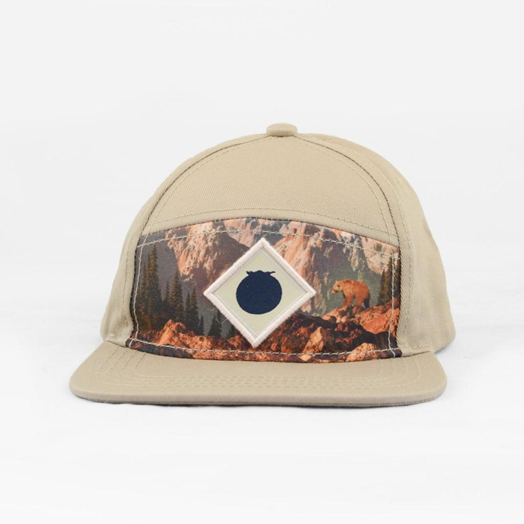 Blueberry Hill Brown Bear Snapback