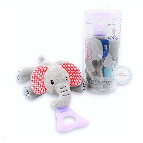 Elephant 4 in 1 Pacifier Holder