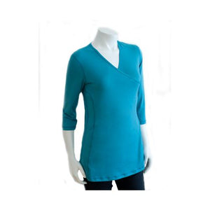 NuRoo Pocket Skin to Skin, Medium, Teal - 3/4 Length Sleeve