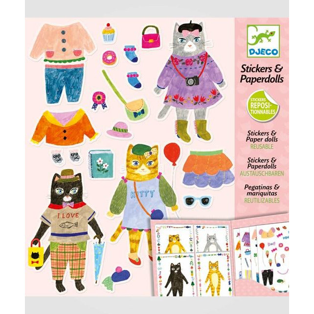 Djeco Paper Toys Collection
