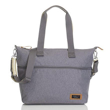 Load image into Gallery viewer, Storksak Travel Expandable Tote Diaper Bag, Gray, One size