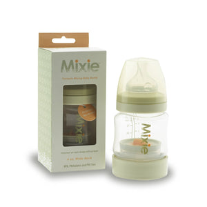 Mixie Formula Mixing Baby Bottle, 4 oz