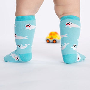 Sock It To Me Baby Seals Toddler Knee High Socks