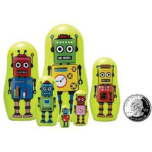 Load image into Gallery viewer, The Original Toy Company Madness Micro Robot Matryoshka