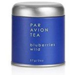 Par Avion, Blueberries Wild Tea, 2 oz Tin