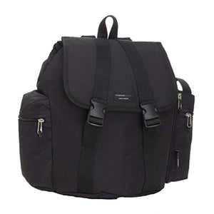 Storksak Black Backpack