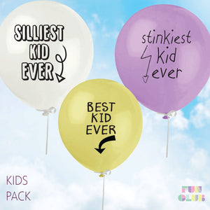 "Fun Club! ""Best Kid Ever"" Balloon"