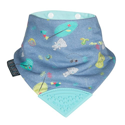 Cheeky Chompers - Neckerchew, Patterned, Tiny Tatty Teddy Denim Day