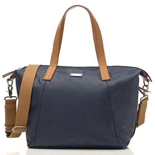 Storksak Navy Noa Shoulder Bag Diaper Bag with Organizer