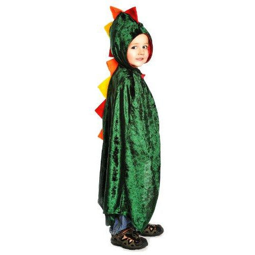 Dragon Cloak, Green, One size fits most ages 3-8